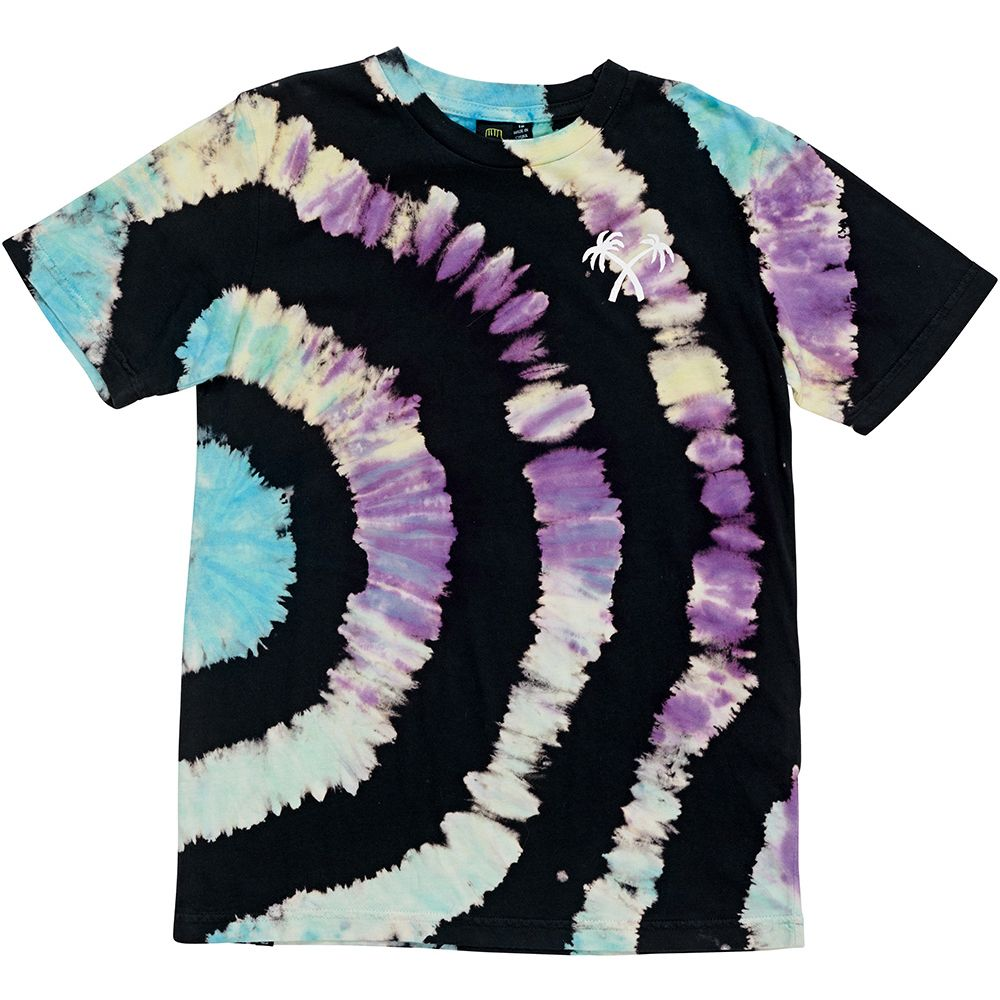Alphabet Soup Tropical Dye Tee