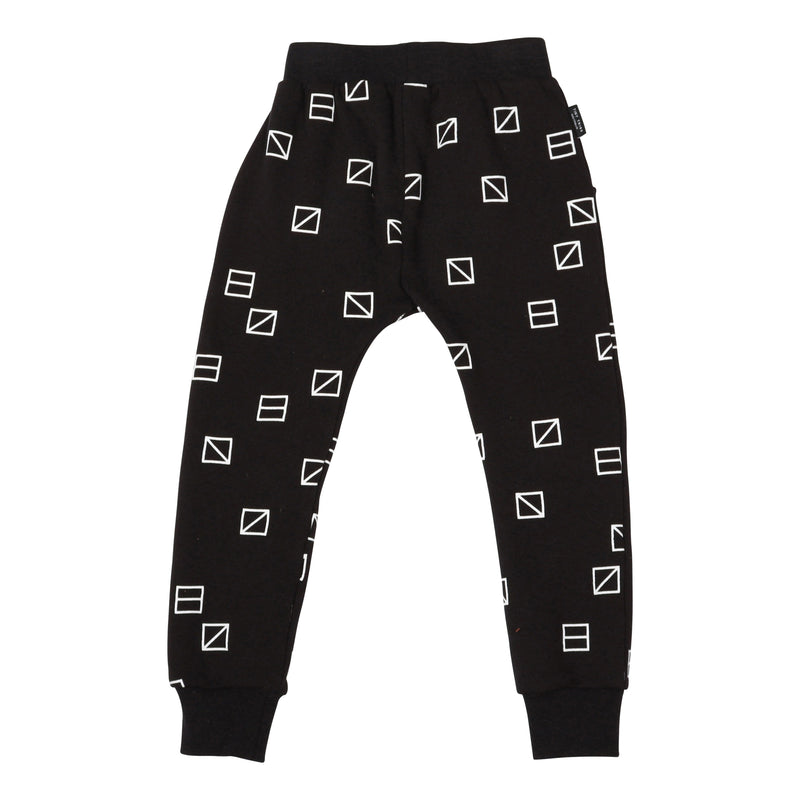 Tiny Tribe Geometric Square Sweatpant