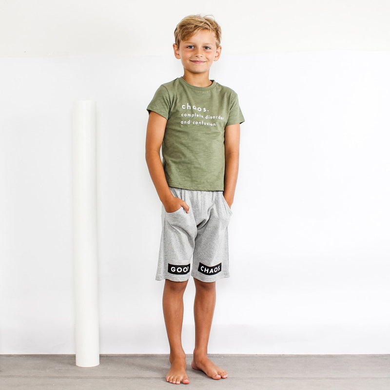 Tiny Tribe Good Chaos Relaxed Short - Threads for Boys
