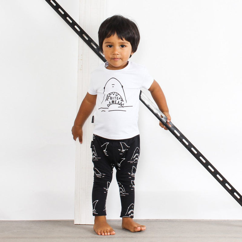 Tiny Tribe Shark Tee - Threads for Boys