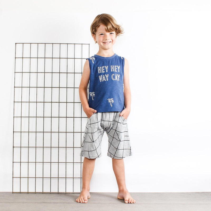 Tiny Tribe Hey Hey Tank - Threads for Boys