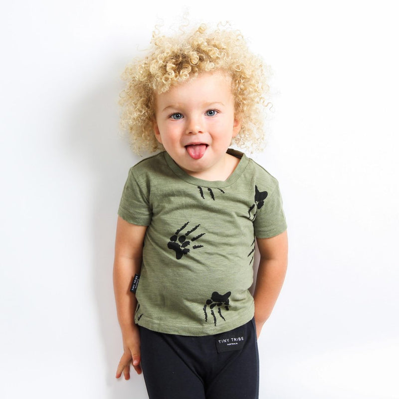 Tiny Tribe Paw Tee - Threads for Boys