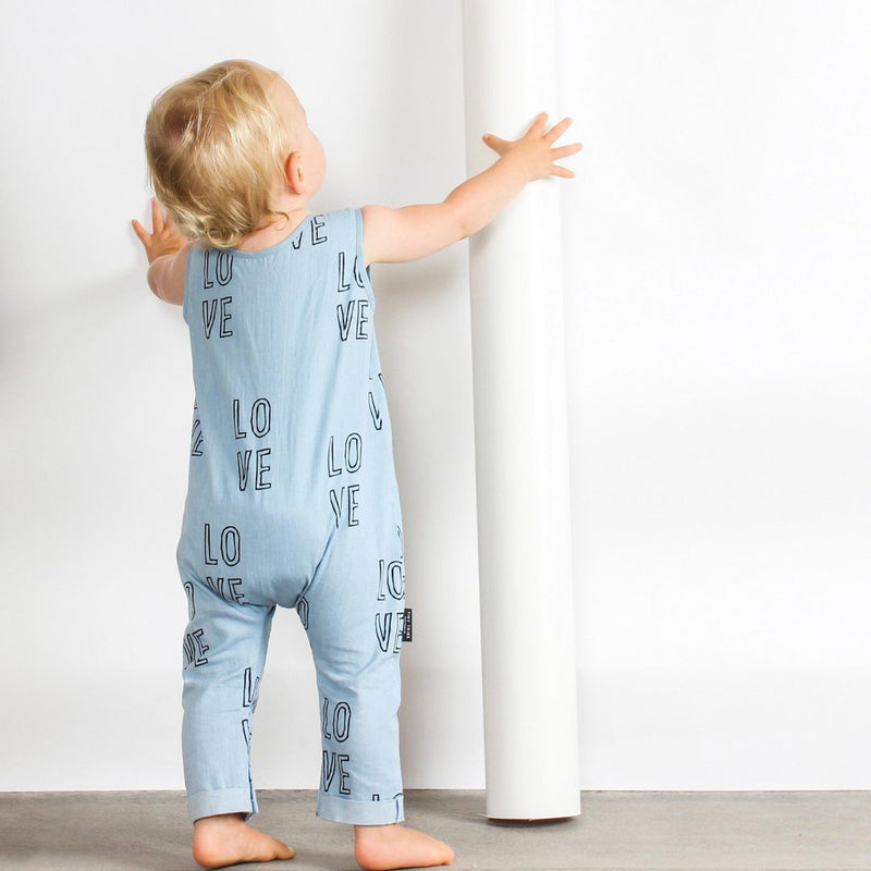 Tiny Tribe Love Romper - Threads for Boys