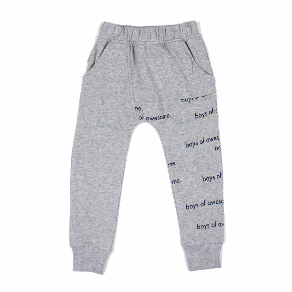 Tiny Tribe Boys of Awesome Sweat Pant - Threads for Boys