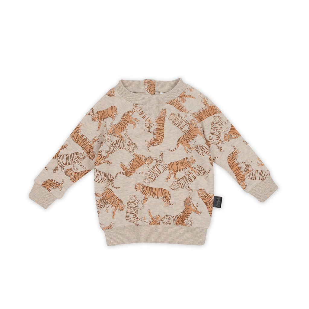 Kapow Kids Toasted Tigers Sweater