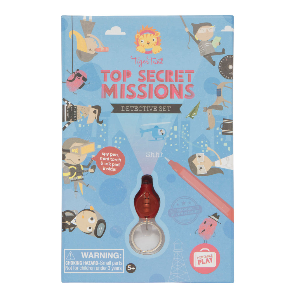 Tiger Tribe Top Secret Missions - Detective Set - Threads for Boys