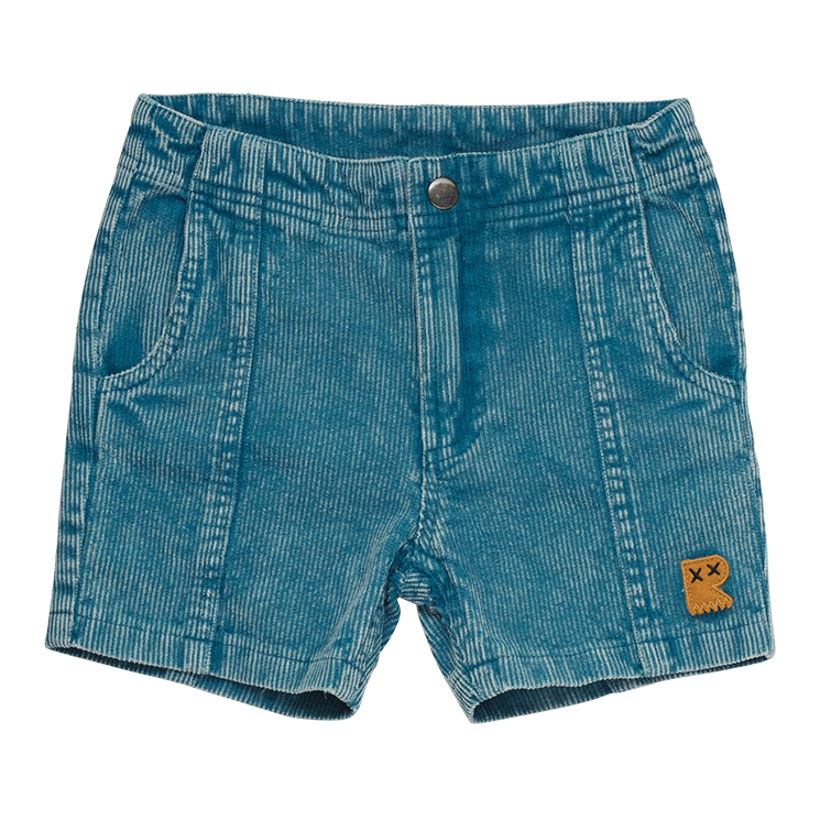 PRE-ORDER Rock your Baby Washed Blue Corduroy Shorts
