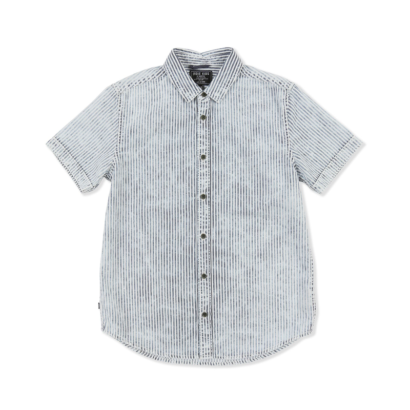 Indie Kids Acid Stripe Shirt - Threads for Boys