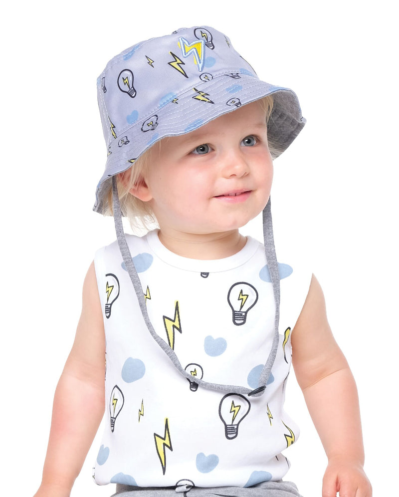 Baby Lightning Bulb baby bucket hat - Threads for Boys