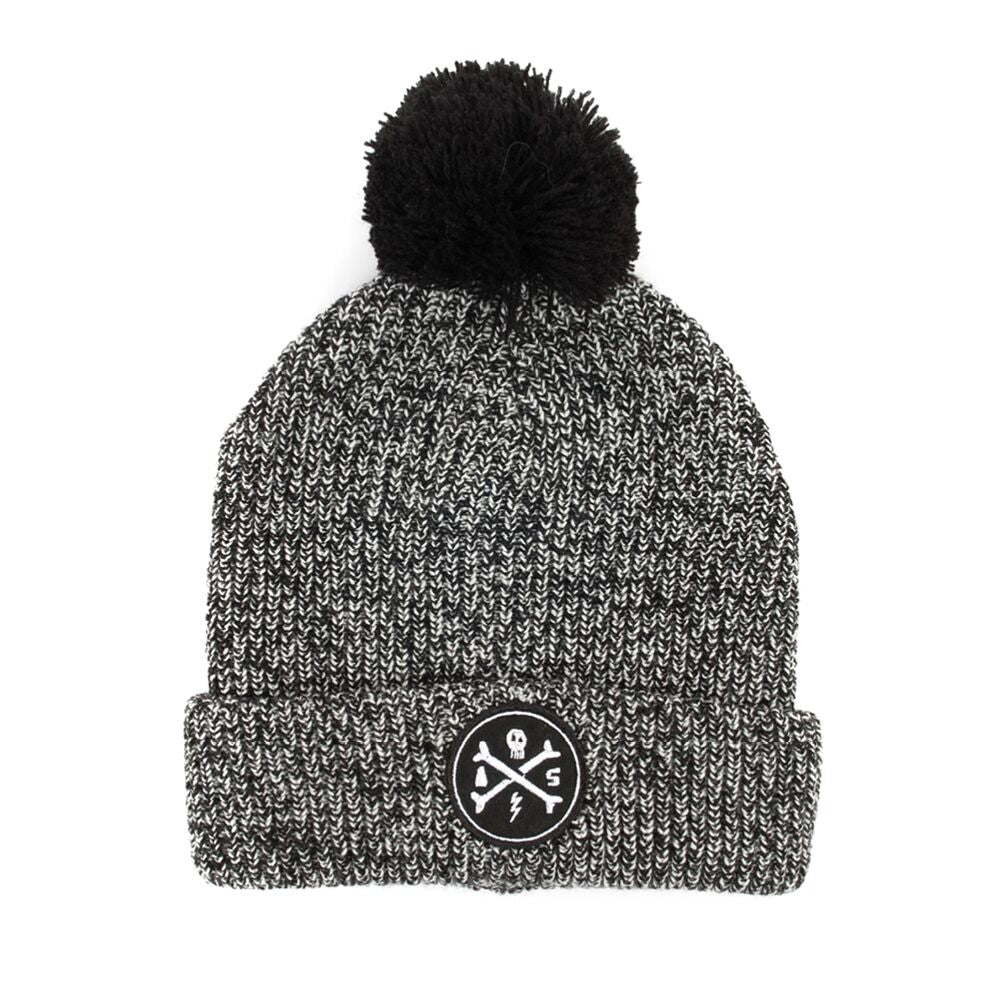 Alphabet Cross Bones Pom Beanie - Threads for Boys