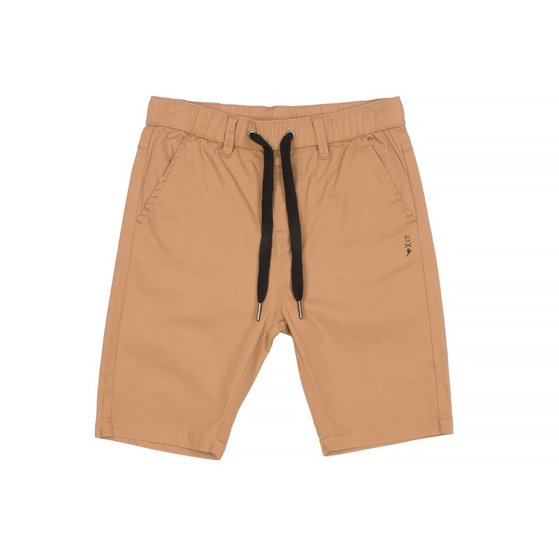 Alphabet Soup Mayhem Chino Short Tan - Threads for Boys