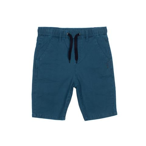 Alphabet Soup Mayhem Chino Short Blue - Threads for Boys