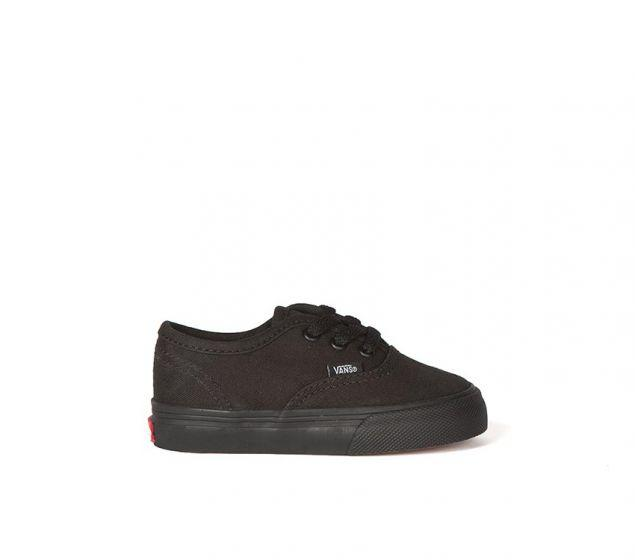 Vans Authentic Black/Black - Threads for Boys