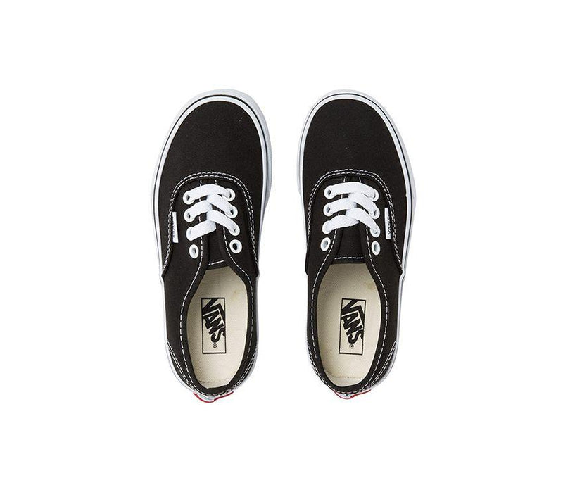 Vans Authentic Black/True White - Threads for Boys