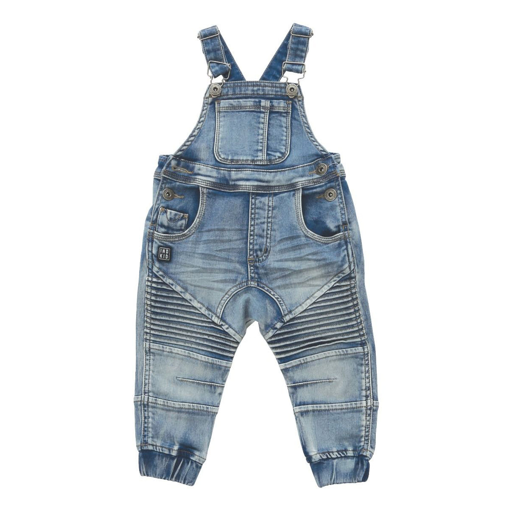 Indie Kids Biker Dungaree - Threads for Boys
