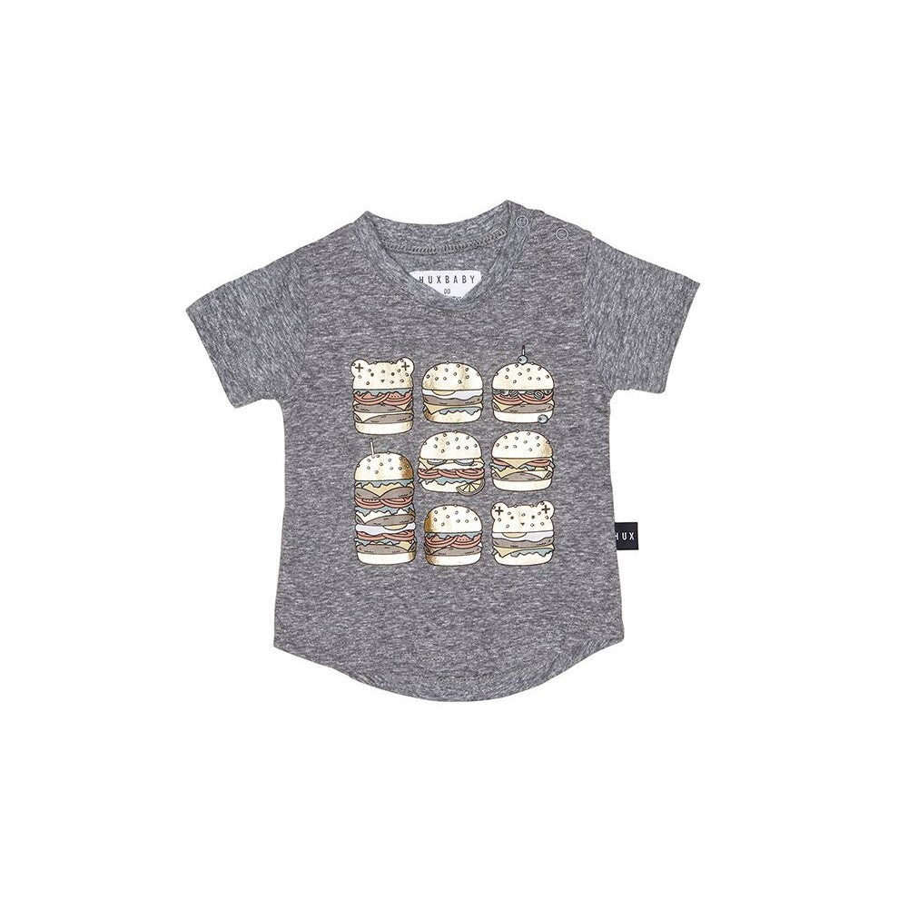 Huxbaby Square Burger T-Shirt - Threads for Boys