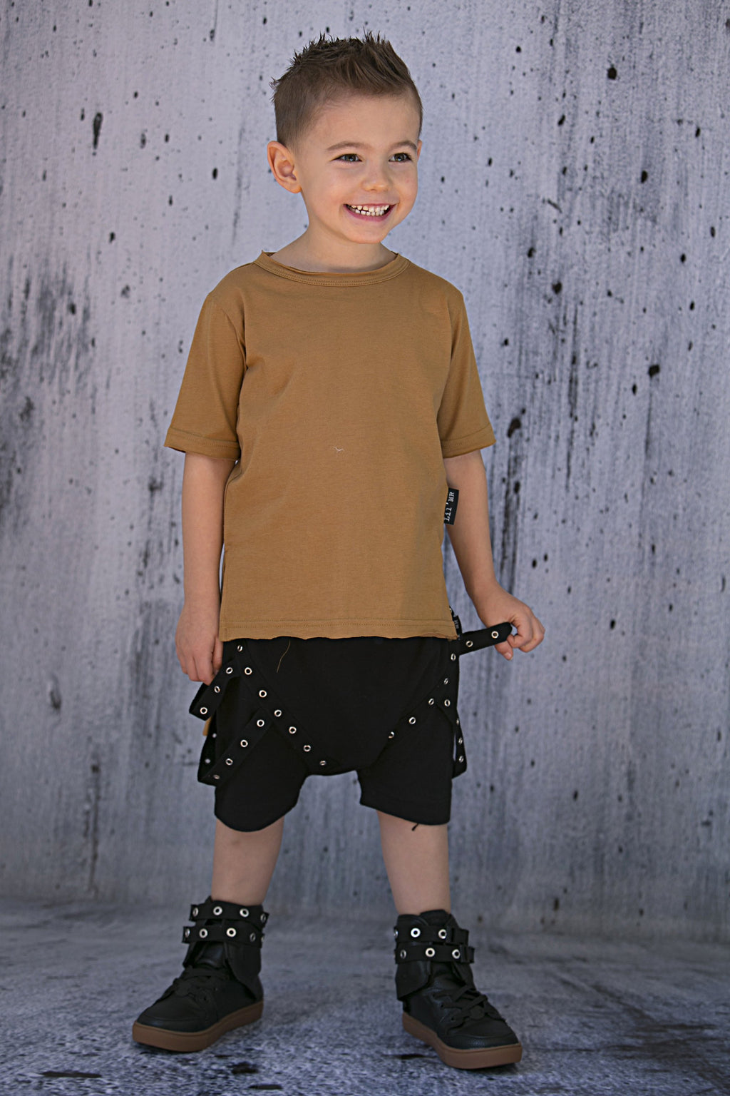 Lil'Mr Commando Shorts Black - Threads for Boys