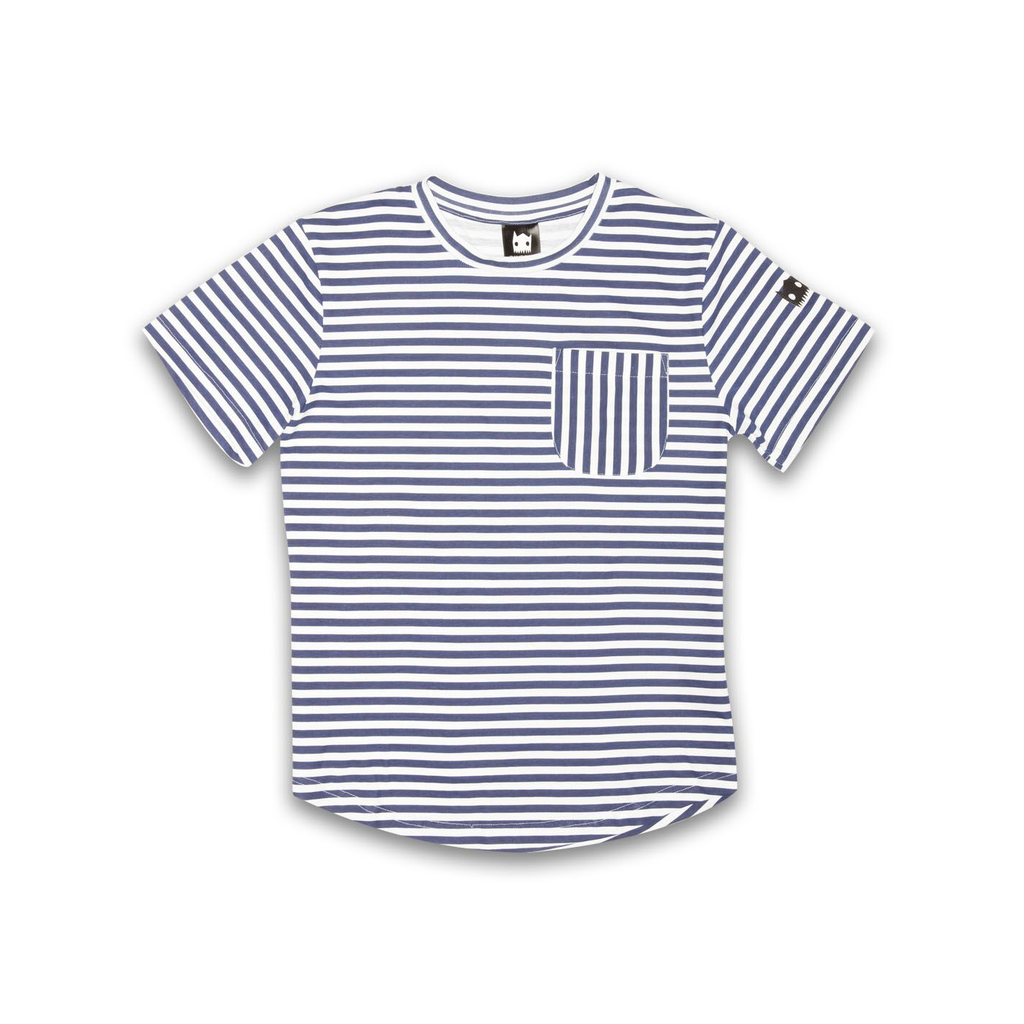Crazy Eddie Stripe Pocket tee - Threads for Boys