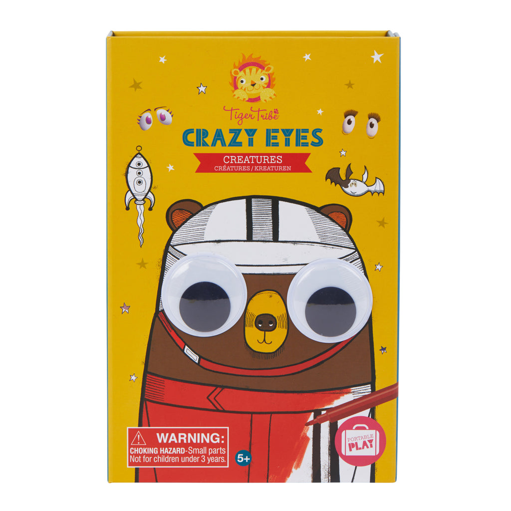 Tiger Tribe Crazy Eyes - Creatures - Threads for Boys