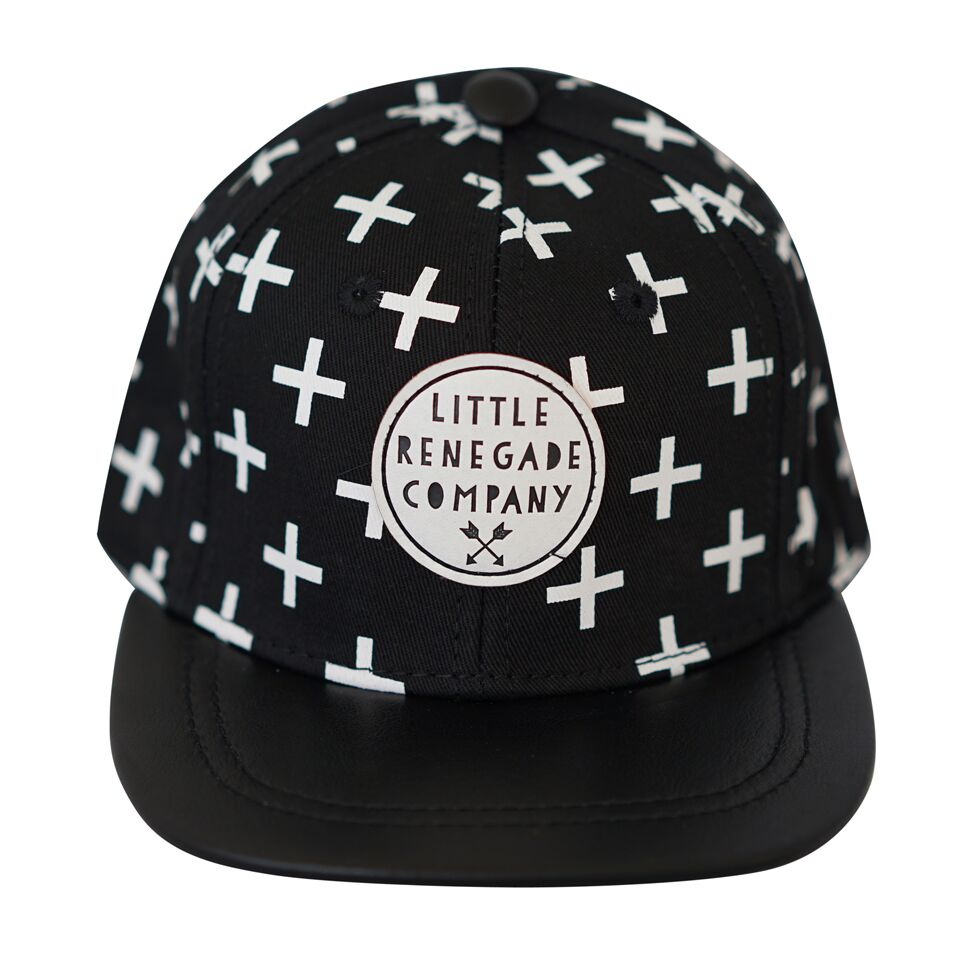 Cross Print Cap - Threads for Boys