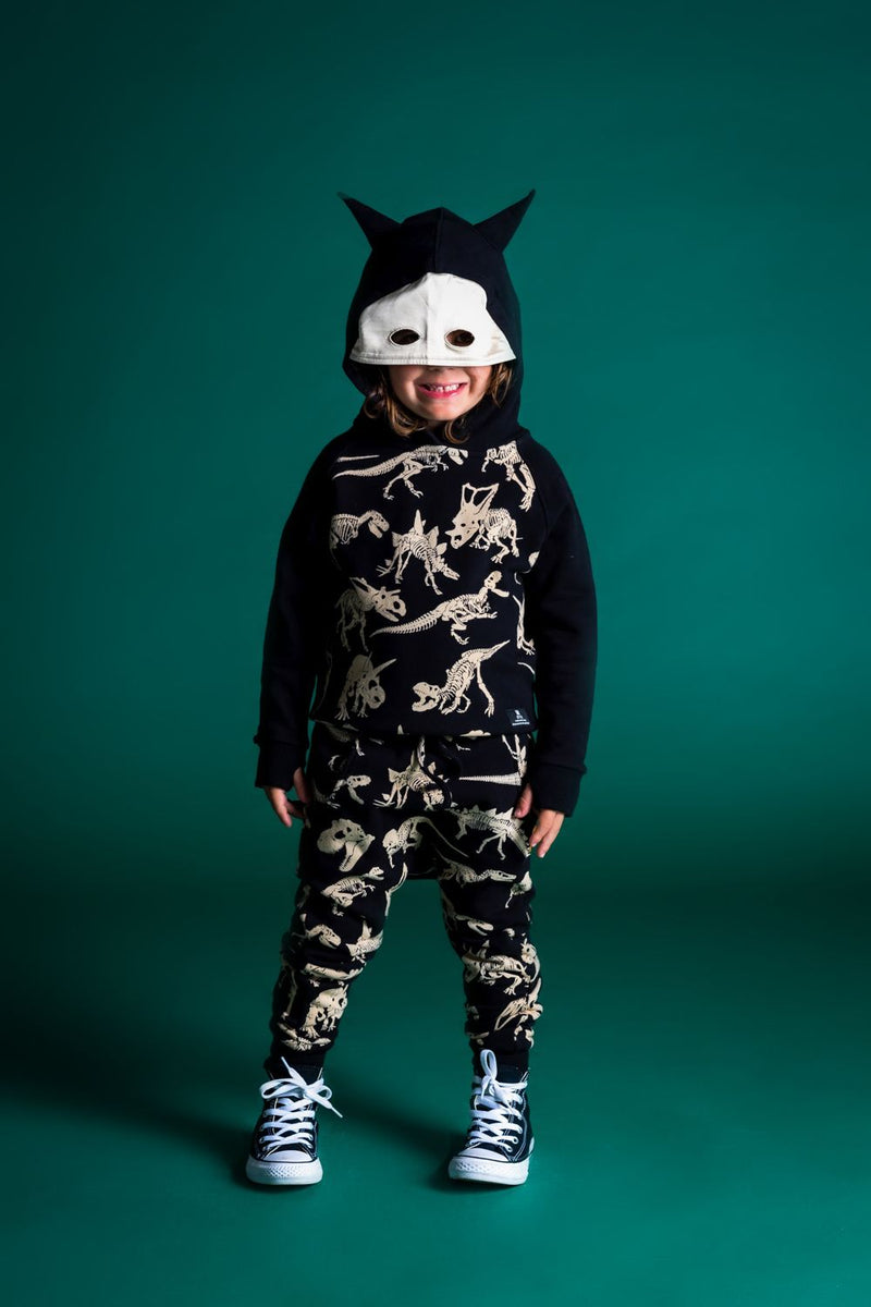 Rock Your Baby Fossil Masked Hoodie