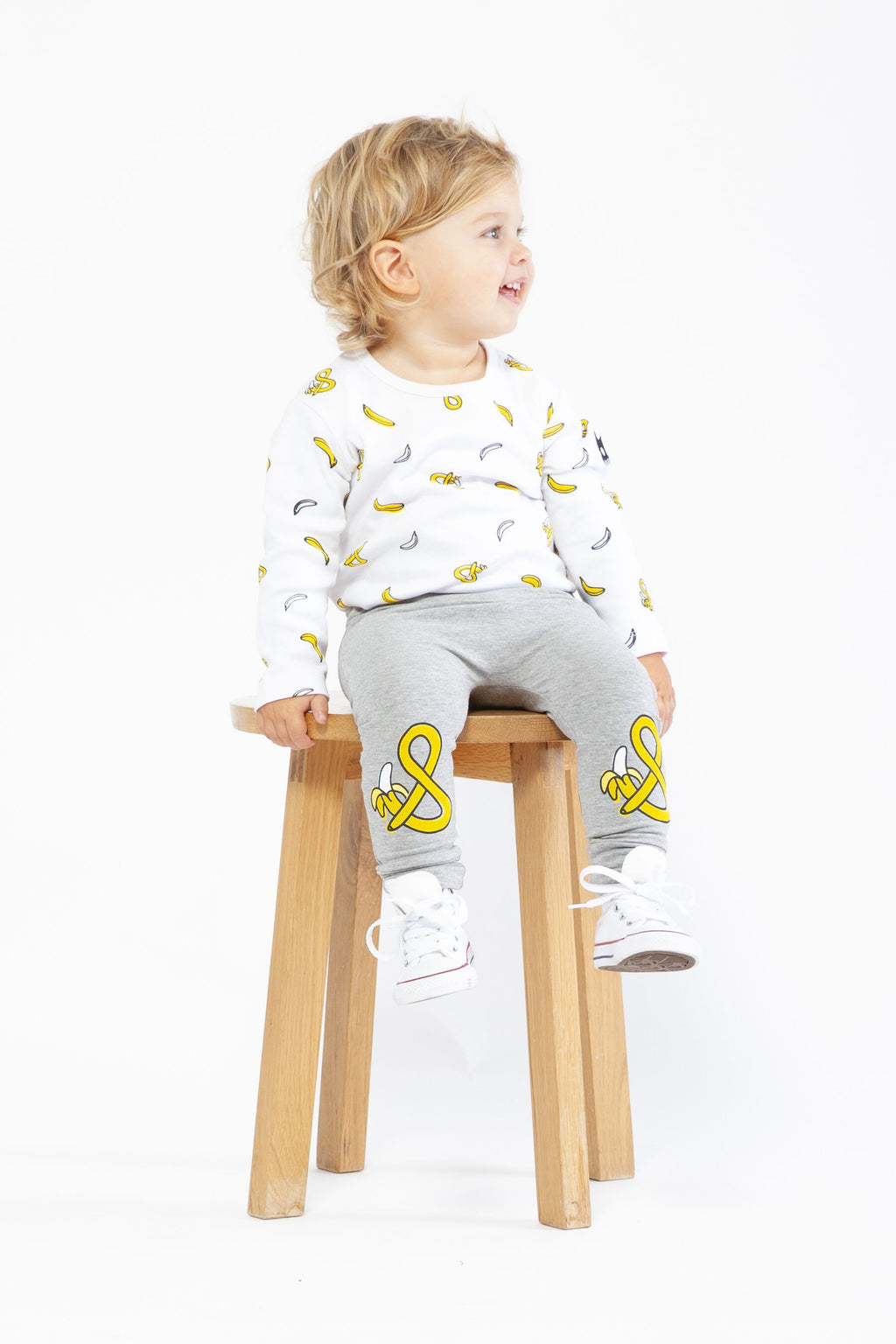 Organic Banana print Onesie - Threads for Boys