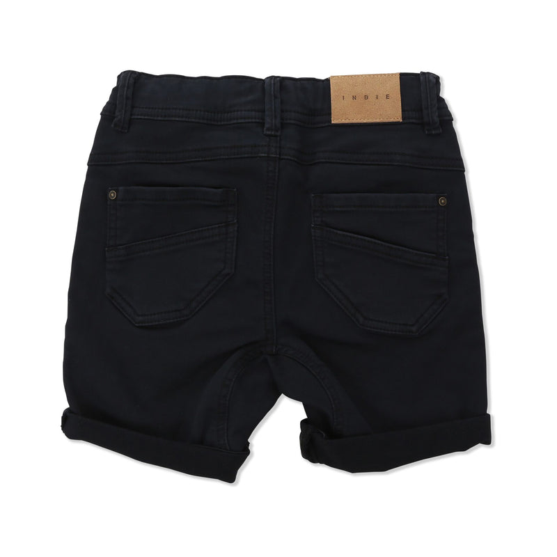 Indie Drifter Biker Short Raw - Threads for Boys