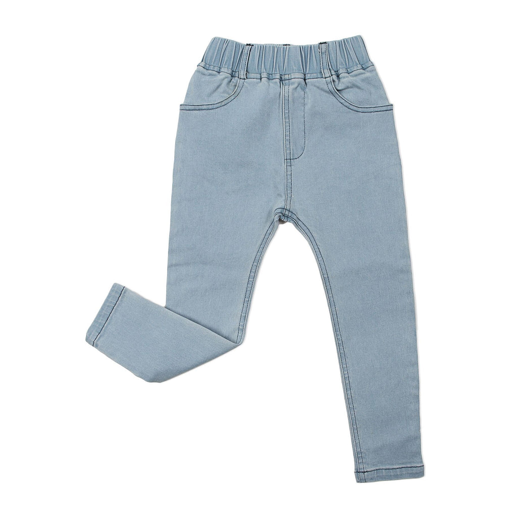 Stretch Denim Jeggings Blue - Threads for Boys