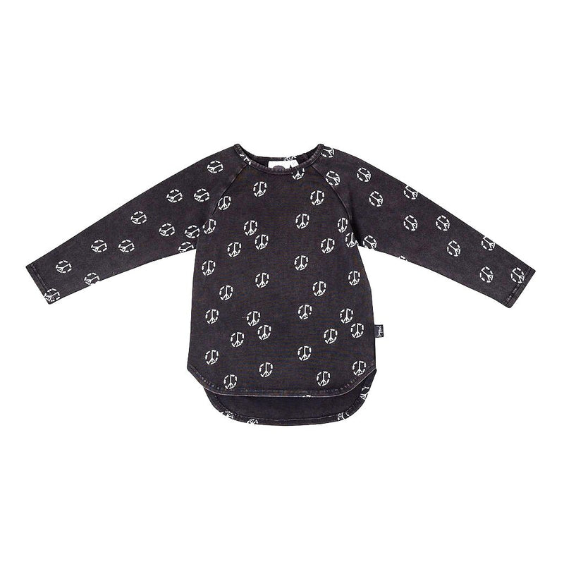Kapow Kids Skate & Peace Long Sleeve Tee - Threads for Boys