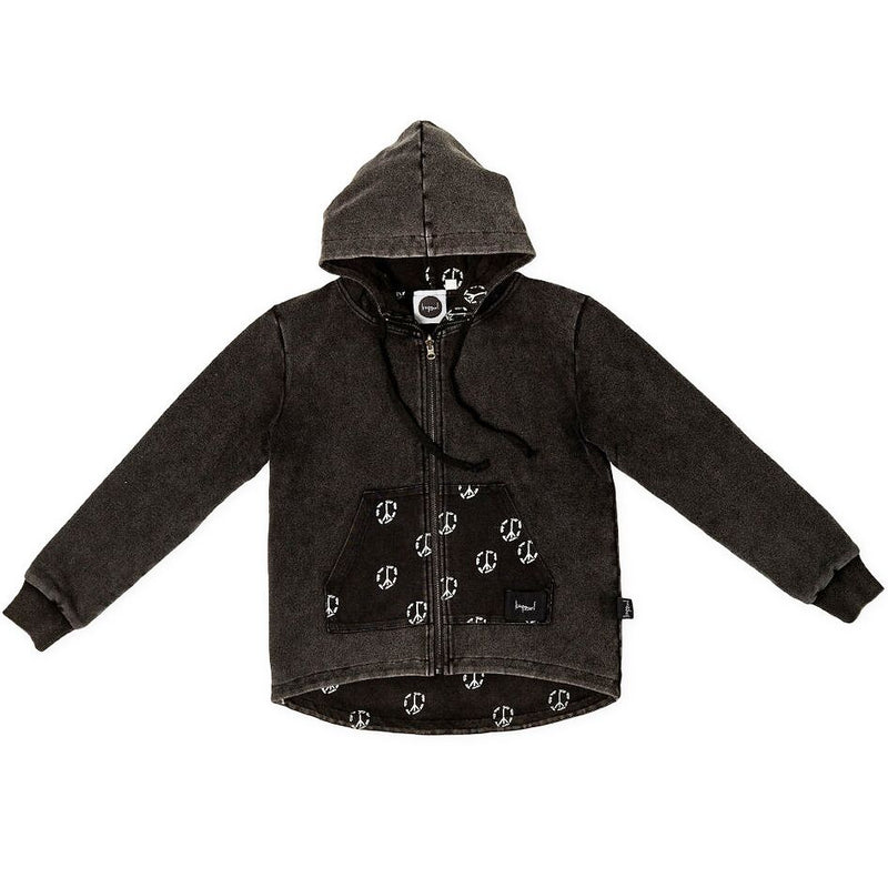 Kapow Kids Skate & Peace Reversible Jacket - Threads for Boys