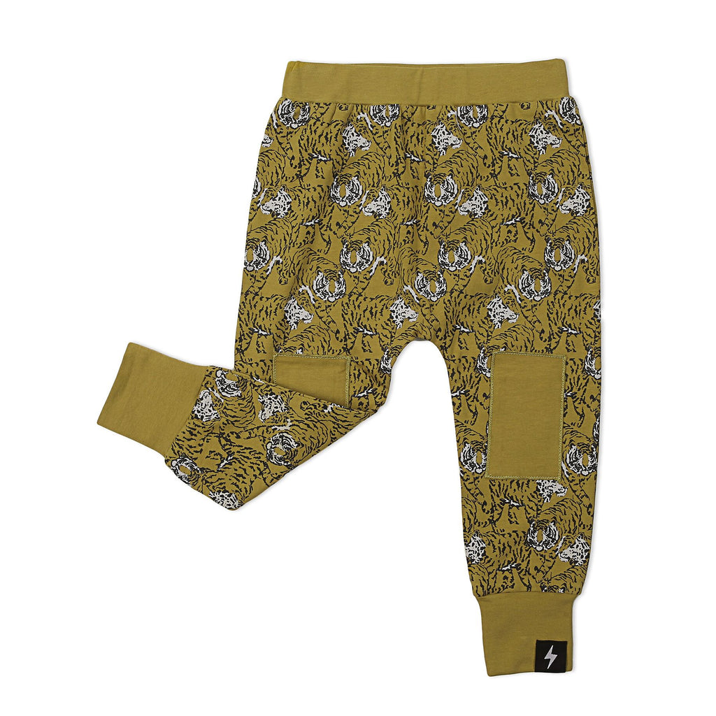 Tiger Knee Patch Pants - Threads for Boys