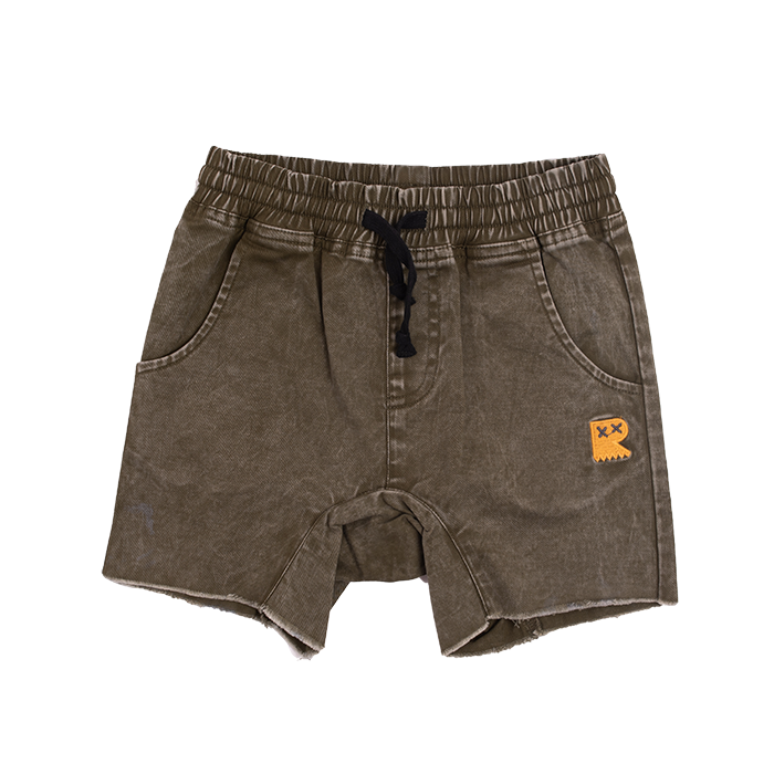 Rock Your Baby Khaki Strollin Shorts - Threads for Boys
