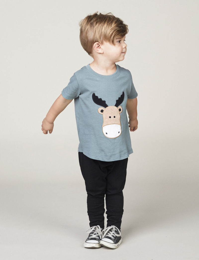 Huxbaby Moose T-Shirt - Threads for Boys