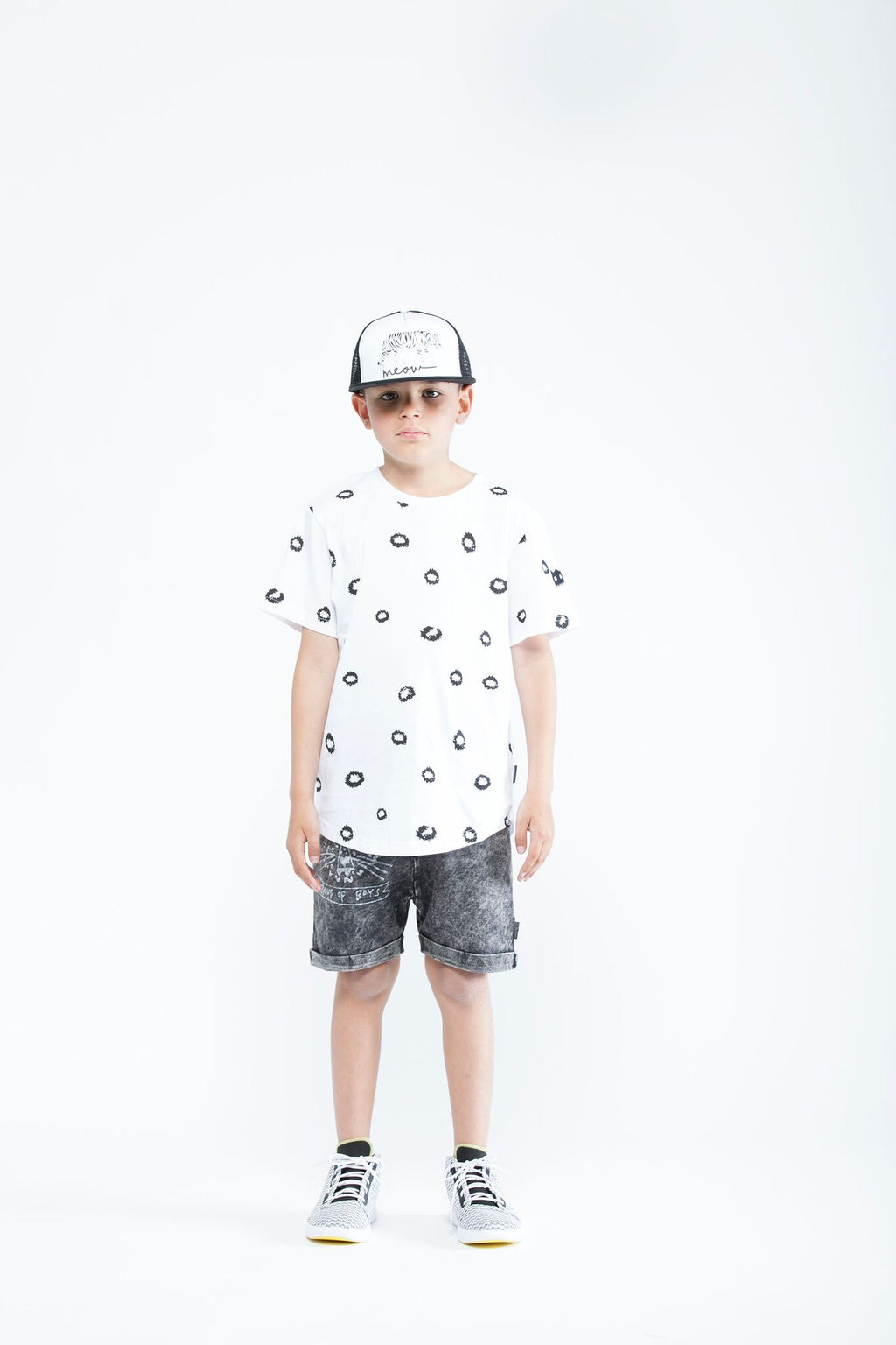 Leopard Spots Contour tee - Threads for Boys