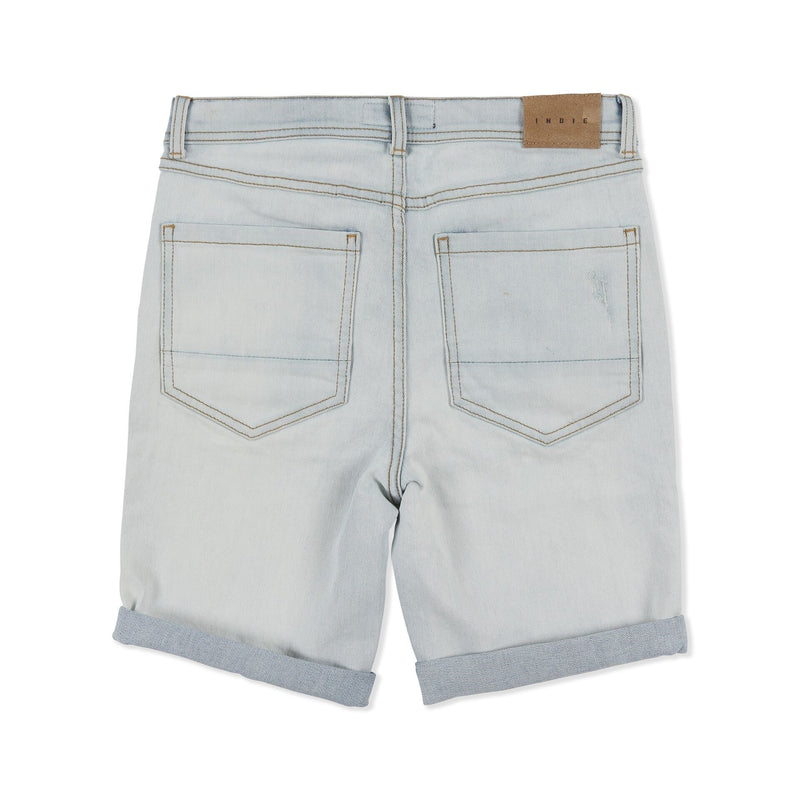 Indie Kids Denim Sawn Short - Threads for Boys
