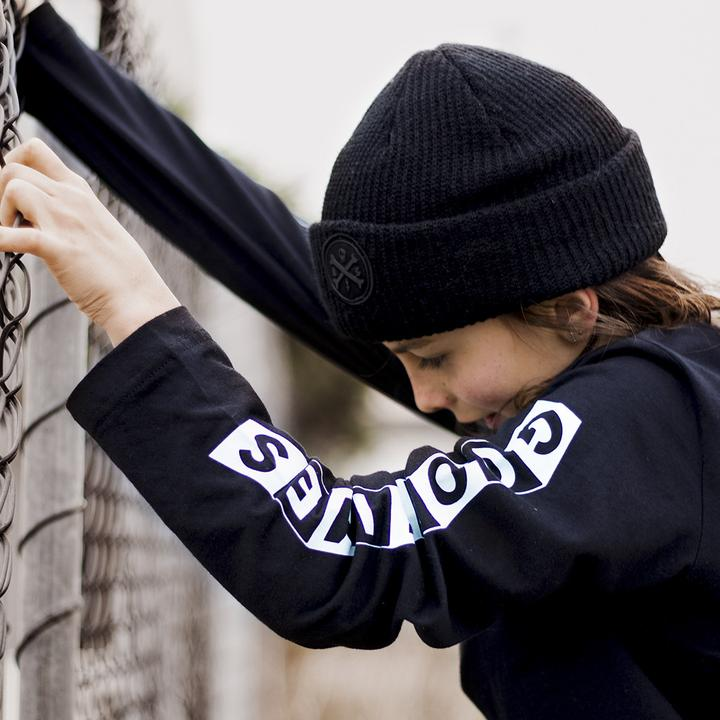 Alphabet Phantom Beanie - Threads for Boys