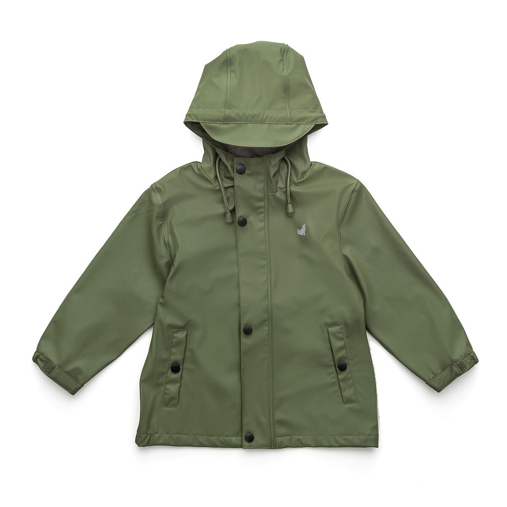 Crywolf Khaki Play Rain Jacket - Threads for Boys