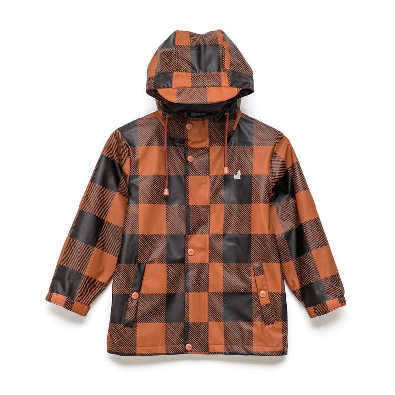 Crywolf Play Jacket Rust Plaid