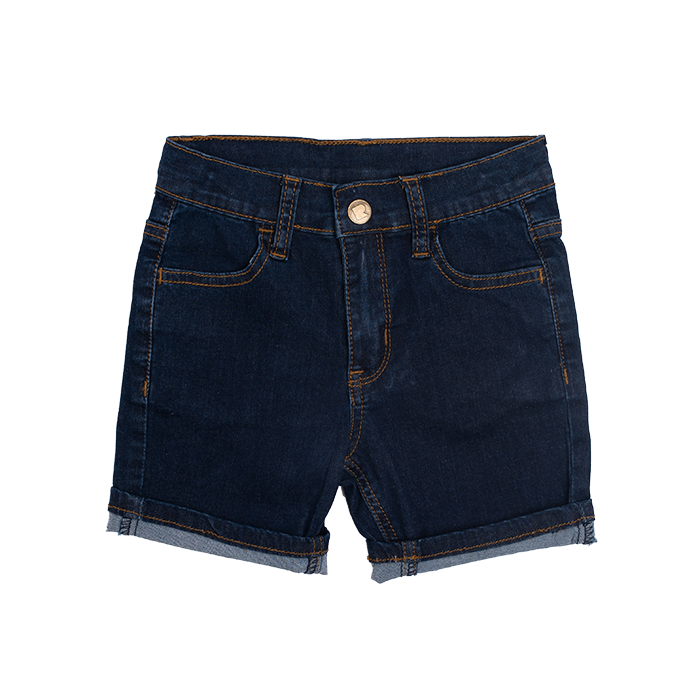 Rock Your Baby Blue Denim Shorts - Threads for Boys