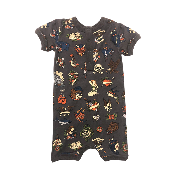 Rock your Baby Inked Playsuit - Threads for Boys