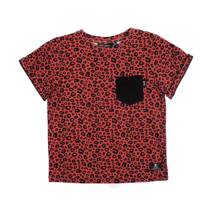 Rock your Baby Red Leopard Tee - Threads for Boys