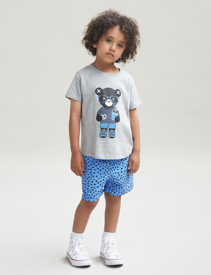 Huxbaby Grey Tshirt - Threads for Boys