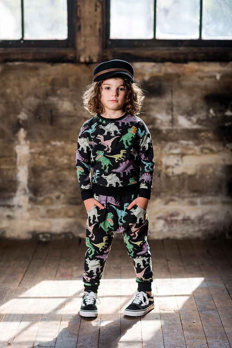 Rock Your Baby Land Before Time Trackpants - Threads for Boys