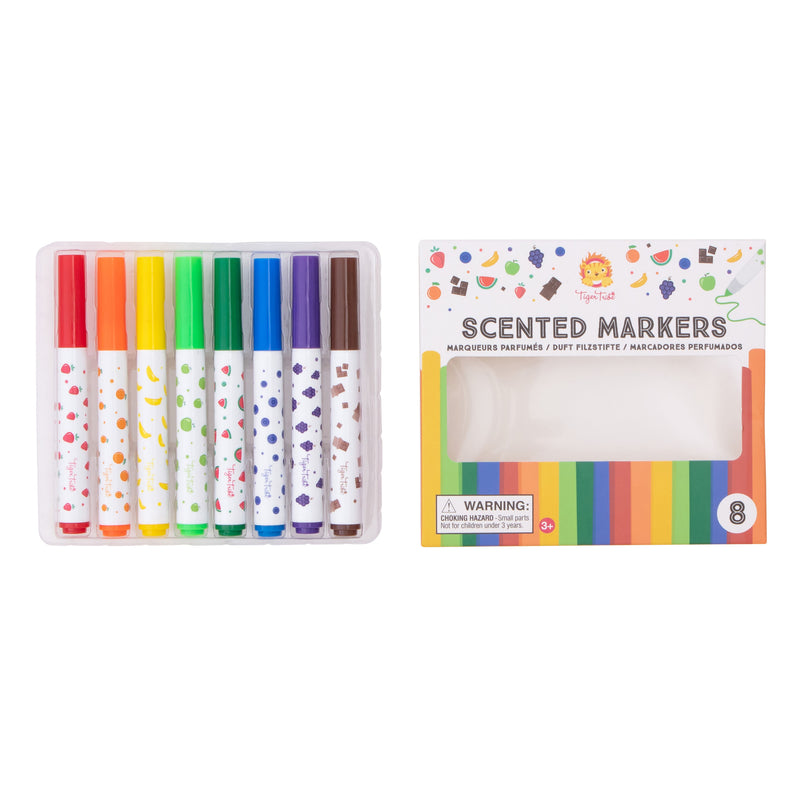 Tiger Tribe Scented Markers - Threads for Boys