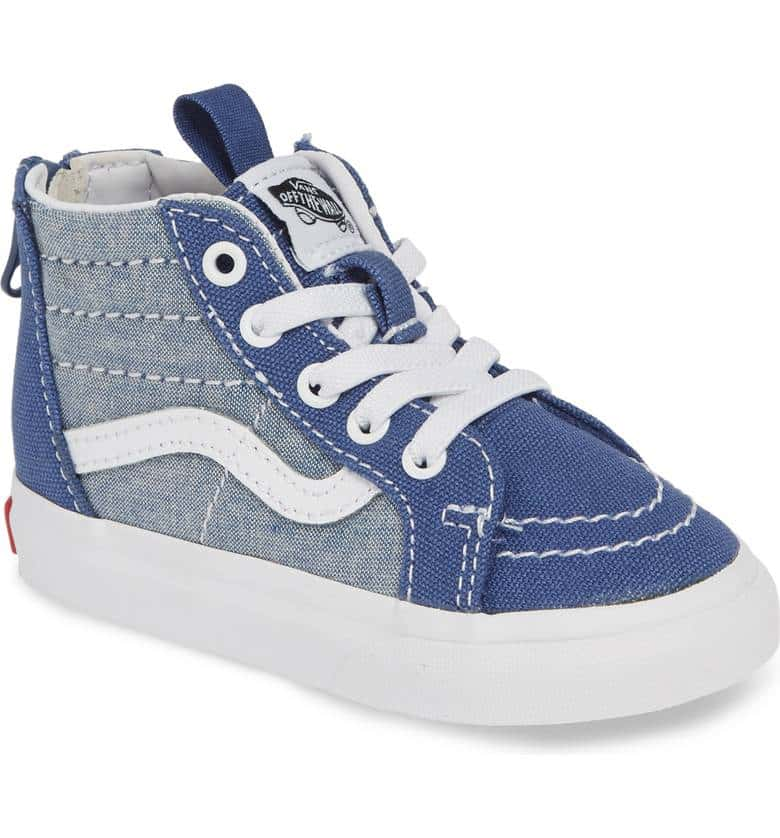 Vans SK8-HI Zip Chambray - Threads for Boys