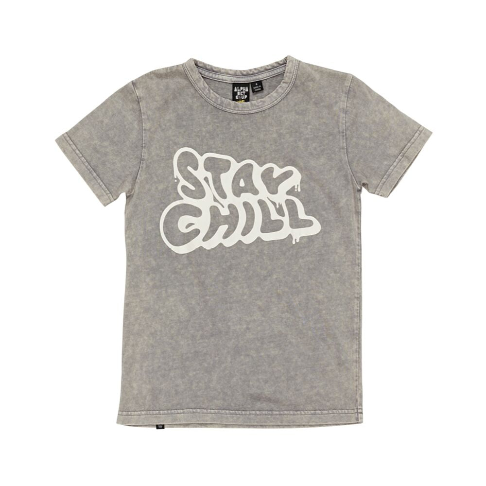 Alphabet Soup Stay Chill Tee - Threads for Boys