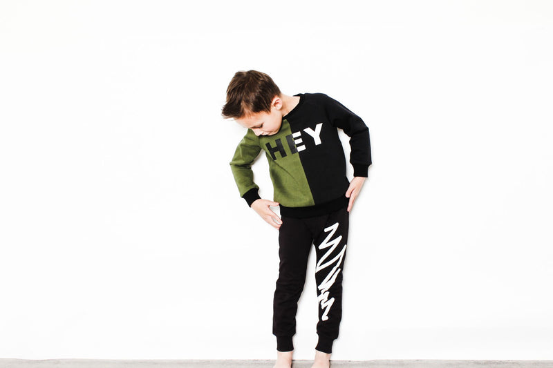 Tiny Tribe Jagged Line Sweatpant - Threads for Boys