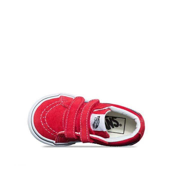 Vans SK8-mid Red/Adriatic Blue - Threads for Boys