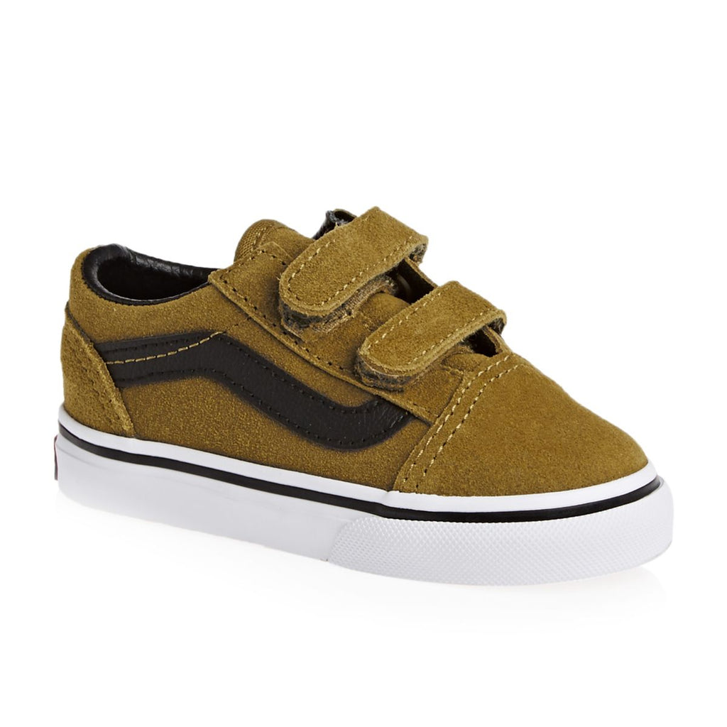 Vans Old Skool V Toddler Cumin/Black - Threads for Boys