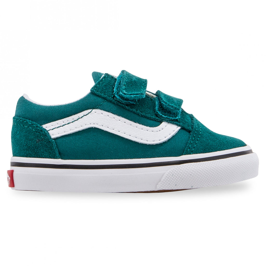 Vans Old Skool V Toddler Green - Threads for Boys